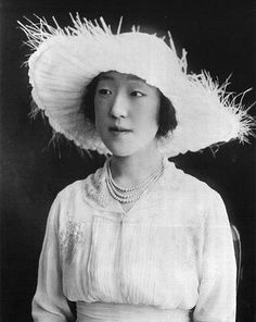 "The Princess Nagako of Japan (1903-2000). She was a daughter of The Prince Kuniyoshi The Lord of Kuni and his wife, Shimazu Chikako. She was ""Nagako, Consort of Imperial Prince Hirohito, The Crown Prince"" (1924-1926), and ""Emperor's Consort"" (1926-1989) as the wife of The Shōwa Emperor of Japan (Hirohito). Posthumous title ""Emperor's Consort Kōjun"". Her surviving children are The Reigning Emperor Akihito, The Imperial Prince Masahito & The Imperial Princesses Shigeko, Kazuko, Atsuko, and…"