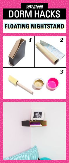 Design the dorm everyone wants to hang out in and make room for all your stuff with these cheap and easy DIY dorm decor and storage ideas.
