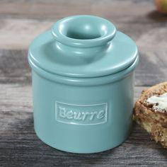 Our Cafe Collection Butter Bell crocks were inspired by a recent visit to our favorite French bistro in New York. Butter Crock, Butter Recipe, Butter Dish, Butter Pasta, Butter Icing, Cookie Butter, Steak Butter, Butter Shrimp, Butter Bell