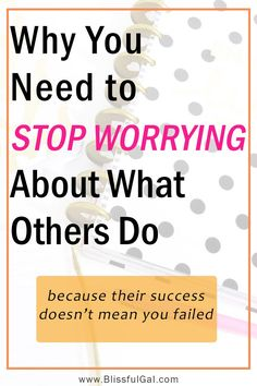 Stop Worrying About What Others Are Doing | Worrying about what others do is hurting you | Stop comparing yourself | Comparison quotes
