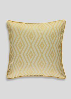 Geo Jacquard Cushion (45cm x 45cm) - Matalan