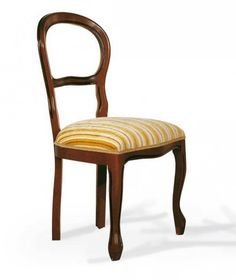 Stylová jídelní židle, masiv, odstín i potah na přání > varianta bez područky > 97 x 48 x 54 cm