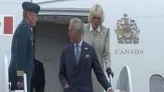 Prince Charles and Camilla, Duchess of Cornwall arrive in Canada for whistlestop tour | Mail Online