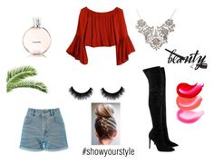 """""""#showyourstyle"""" by beautychecks on Polyvore featuring mode, Miss Selfridge, Kendall + Kylie en Chanel"""