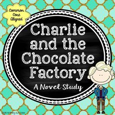 This is a 6 page sample novel study for Charlie and the Chocolate Factory by Roald Dahl. Reading Response Activities, Critical Thinking Activities, Book Activities, Teaching Resources, Reading Comprehension, Charlie Chocolate Factory, Chocolates, Author Studies, Unit Studies