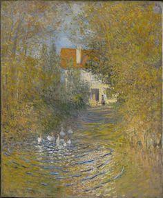 Claude Monet - The Geese