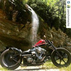 "60 Likes, 3 Comments - Ryan Woods (@chopperchrash) on Instagram: ""#Repost @panchomacho with @repostapp. ・・・ #Custom #Harley #ShovelHead #Chopper #HarleyDavidson…"""