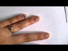 Roses stylisées   Nature Nails Nails Art