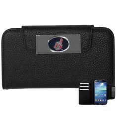 Cleveland Indians MLB Samsung Galaxy S4 Wallet Case