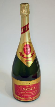 Looking for a great Birthday Gift?  Try our Personalized set of labels for Champagne Bottle with Personalized Birthday Son!  All labels are