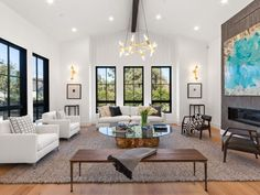 Meridith Baer Home is the premier home staging company in the nation. Home Staging Companies, Next At Home, Design Firms, Renting A House, Luxury Furniture, Great Rooms, Home And Family, Dining Table, Interior Design