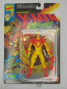 1994 Toy Biz Marvel Comics X-Men X-Force Pyro Evil Mutants Action Figure: $19.99 End Date: Saturday Apr-28-2018 6:40:19 PDT Buy It Now for…