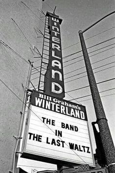 The Band, the Last Waltz at Winterland Ballroom Thanksgiving Day, November 1976 Rock Posters, Concert Posters, Music Posters, Garth Hudson, The Staple Singers, Paul Butterfield, The Last Waltz, Robbie Robertson, Live Rock
