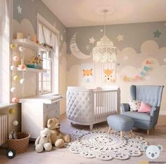 You know that feeling you get when you get to squeeze a little baby leg that's peeking out of a blankie? That same satisfactory feeling applies here. Baby Boy Room Decor, Baby Room Design, Baby Bedroom, Baby Boy Rooms, Kids Bedroom, Nursery Room Ideas, Bedroom Ideas, Girl Nursery, Girl Room