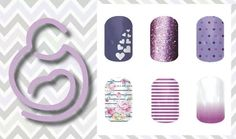 March of dime theme nail Designs www.allexa.jamberrynails.net