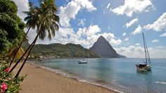 Saint Lucia Sailing Holidays          Set sail from Rodney Bay with the dramatic twin Pitons as your backdrop, heading south to St. Vincent and the Grenadines. Explore tranquil Bequia, just eight miles south of St. Vincent, where you'll find ...