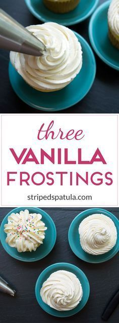 Recipes for ermine, Swiss Meringue, and Classic American Buttercreams!