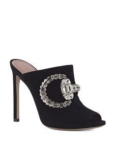 Gucci Open Toe Slide Sandals - Maxime High Heel | Bloomingdale's