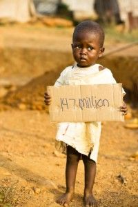 This breaks my heart... 147 million orphans in the world :/