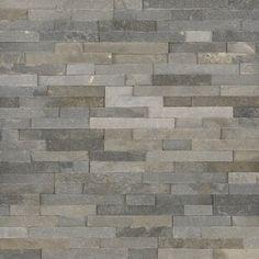 Stone Design Thin Flexible x Natural Stone Tile Tiled Fireplace Wall, Stone Tile Fireplace, Stacked Stone Fireplaces, Fireplace Design, Stone Tiles, Fireplace Ideas, Fireplace Modern, Glass Mosaic Tiles, Wall Tiles
