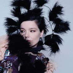 björk and her fabulous plumage