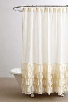 Anthropologie - Aberdeen Shower Curtain