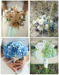 beach wedding bouquets