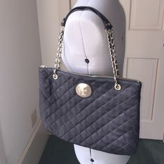 👜10% OFF👜Black quilted leather DKNY handbag | Dkny handbags ... : dkny black quilted purse - Adamdwight.com