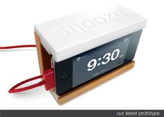 The Snooze Alarm for Apple iPhone by Distil Union is Convenient #phonestands trendhunter.com