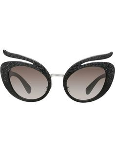 fe062708e3 Miu Miu Folie Sunglasses - Farfetch