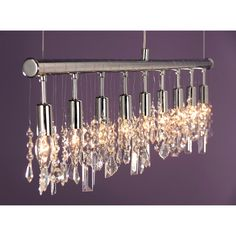 LED-Pendelleuchte Ida Led by Leuchten Direkt - Eisen - Silber
