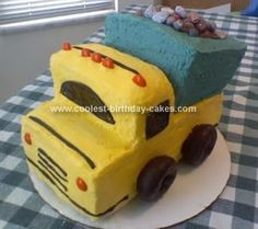 Creating a Dump Truck cake shouldn't be too complicated a haul if you take a look at these cool homemade Dump Truck cakes that'll give you truck-loads of inspiration for making your own.
