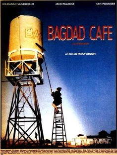 Bagdad Cafe Percy Adlon After a Jasmin household scene lands at the Bag . Films Cinema, Cinema Film, Cinema Posters, Film Posters, Movies And Series, Movies And Tv Shows, Bagdad Cafe, Planet Movie, Video Humour