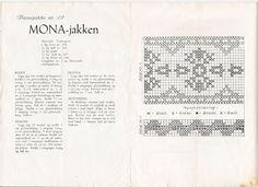 Mange gamle koftemønstre Vintage patterns