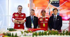 Ferrari en periodo previo al  Grand Prix de España revela planes de su parque