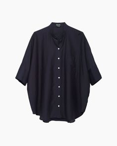 Steven Alan / Oversized Stand Collar Shirt