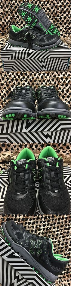 Other Paintball Clothing 159066: New Hk Army Shredder Paintball Cleats - Black Lime Green - Size 14.0 Us -> BUY IT NOW ONLY: $54.95 on eBay!