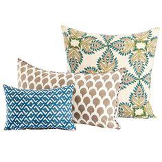 Verdin Pillow Collection