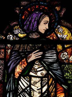 """St.Fachnea"" by Harry Clarke via DailyArt app, your daily dose of art getdailyart.com"