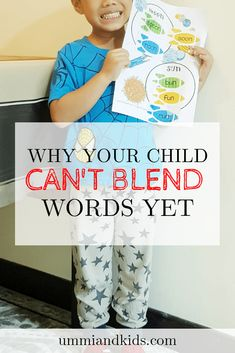 Why your child can't blend words yet | Phonemic Awareness