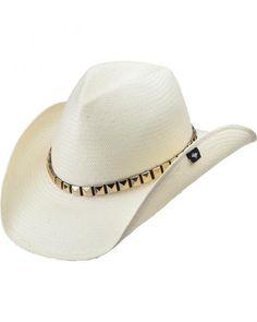 c29ee8dfaac Peter Grimm Drakkar White Straw Cowboy Hat Cowboy Hats