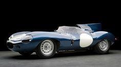 Picture of Jaguar D Type for Antique Car Wallpaper