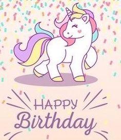 Birthday background with unicorn Free Vector Unicorn Birthday Parties, Happy Birthday Wishes, Unicorn Party, Birthday Greetings, Birthday Cards, Birthday Celebration, Baby Birthday, Unicorn Pictures, Birthday Wallpaper