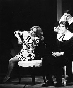 Madeline Kahn and Robert Klein on stage in New Faces of 1968