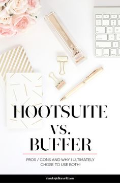 Hootsuite vs. Buffer - which is better for scheduling social media? The truth: I use both! Click through to learn why...