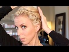 This girl has the CUTEST hairstyle videos!