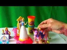 Барби Украшаем Пони на студии Плей До от Золушки серия 28 Приключения Ба...