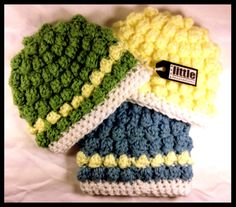 Baby Bobble Hat by LittleAnimations on Etsy, $10.00