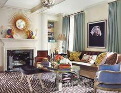 Don't be afraid to be bold - use color & textures! #design #decor #interiordesign #interiordecor