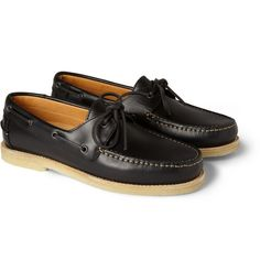A.P.C.Leather Boat Shoes
